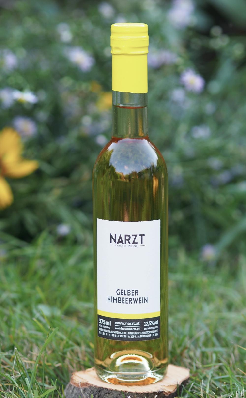 Yellow Raspberry Wine